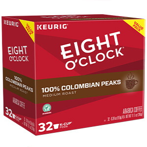100% Colombian Peaks (Single Serve)  - 32-Ct. Box