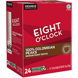 100% Colombian Peaks (Single Serve)  - 24-Ct. Box - Click for More Information