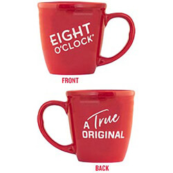 Eight O'Clock Coffee Mug - Click for More Information