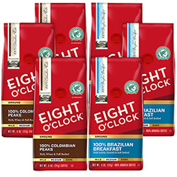 100% Single Origin Tour 6 -Pack - Click for More Information