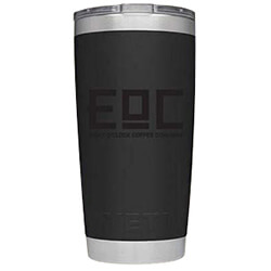 Eight O'Clock Rambler Black Yeti 20 oz. - Click for More Information